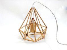 Himmeli leichte Käfig Tabelle Lampe industrielle von LightCookie