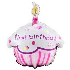 Princess Cupcake 1st Birthday