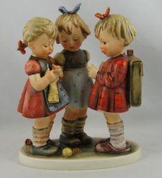 """Vintage Hummel Figurine """"SCHOOL GIRLS"""" Hum 177/I TM 4"""