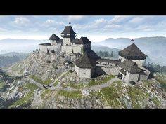 Lubló vára (látványrajz) - YouTube