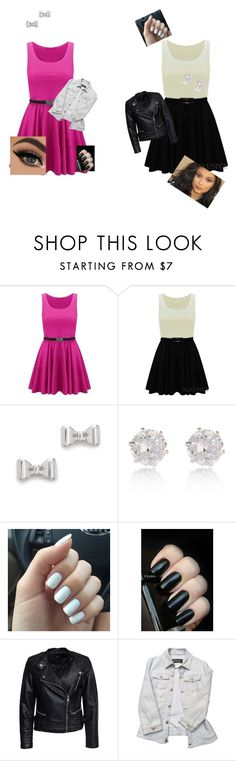 """""""VS"""" by darkroadthecreator ❤ liked on Polyvore featuring Marc by Marc Jacobs, River Island, Sisters Point and Versace"""