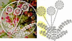 Ivelise Feito à Mão: Florzinha De Crochê