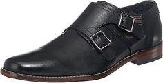 Passend zu verschiedenen Looks – die bugatti Business Schuhe. Das natürlich genarbte Echtleder wurde mit verstellbaren Schnallen aufgewertet.  - weiter Einstieg mit Stretch-Anteil - markant geformte Karree-Schuhspitze - herausnehmbare Innensohle mit Polsterung - bequemer Blockabsatz in Holz Optik  Obermaterial: Leder (Nappaleder) Futter: Leder Decksohle: Leder Laufsohle: Leder  Materialzusammen...