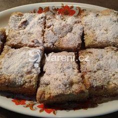 Jemný meruňkový koláč s drobenkou recept - Vareni.cz Banana Bread, Food, Essen, Meals, Yemek, Eten