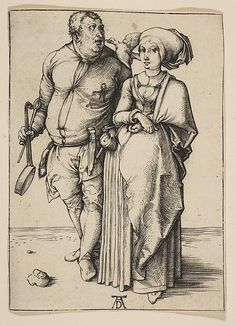 The Cook and His Wife Albrecht Dürer (German, Nuremberg 1471–1528 Nuremberg) Accession Number: 19.73.96