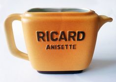 Vintage french bistro PITCHER RICARD