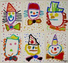 comment peindre des clowns