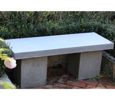 Carica concrete bench | Available from http://www.wgoutdoorlife.com.au Osborne Park Showroom | Perth, Western Australia.
