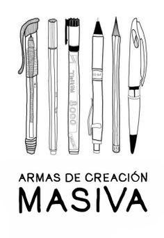 Armas de creación masiva #humor #diseñadores #armas