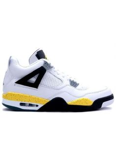 0c89f6c7d8eb 314254 171 Air Jordan IV 4 Retro Mens Basketball Shoes White Tour Yellow  from Reliable Big Discount!