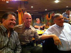 Chuck Gray, Sheriff Paul Babue, Sheriff Joe Arpaio