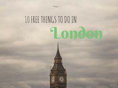 10 Free things to do in london anitahendrieka.com travel-blog