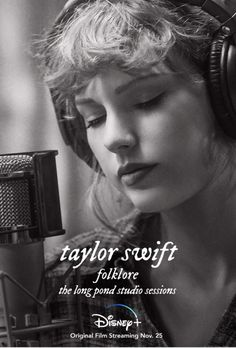 """Taylor Swift, Aaron Dessner (The National), Jack Antonoff (Bleachers) and Justin Vernon (Bon Iver) created an album that crossed genres – a musical journey that allows us to cry and laugh, and during these trying times, makes us feel like we're not quite so alone. They recorded """"folklore"""" thousands of miles apart from each other and had never been in the same room together…until now"""