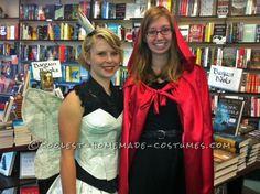 Pretty Paper Dress for a Book Fairy Costume...
