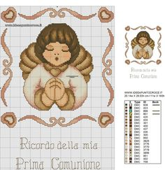 Cross Patterns, Modern Cross Stitch Patterns, Minnie Baby, Everything Cross Stitch, Little Cherubs, Cross Stitch Angels, Creative Arts And Crafts, Hand Embroidery Flowers, Cross Stitch Embroidery