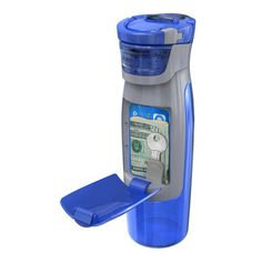 Water bottle with Storage Compartment- I've been eyeing these for a while now. WANT!