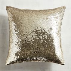 You can have a mermaid sighting right in your very own living room—it's a trend that's happening everywhere. Our flashy, sequined mermaid pillow can change looks to suit your mood and color preference all with a single brush of the hand. The design possibilities are nearly endless and are sure to make a big splash in your home.