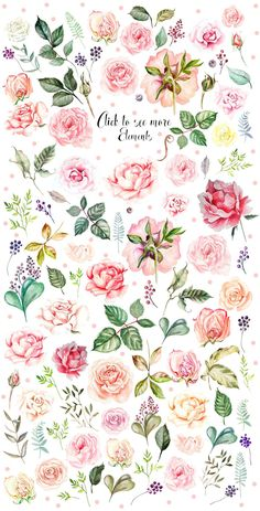 uncategorized Draw Roses Draw Roses Hand Drawn Watercolor BUNDLE Four instance picture 5 - Obtain Ha Watercolor Rose, Watercolor Illustration, Watercolor Paintings, Free Watercolor Flowers, Roses Draw, Jasmin Tattoo, Drawing Hands, Plant Drawing, Drawing Art