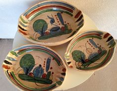 A personal favorite from my Etsy shop https://www.etsy.com/listing/225978336/vintage-mexican-clay-pottery-nested