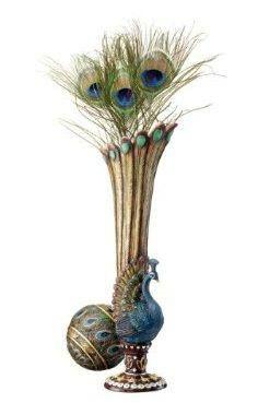 allthingspeacock.com - Peacock Vases