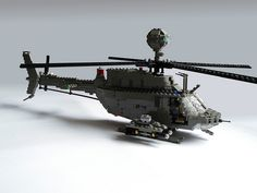 OH-58D Kiowa Warrior #flickr #LEGO #MOC #chopper