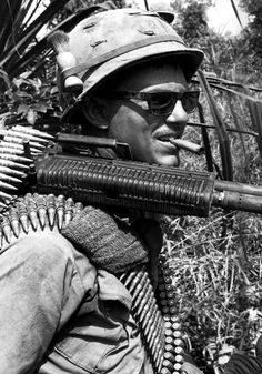 Soldier of the 25th Infantry Division, 1969.