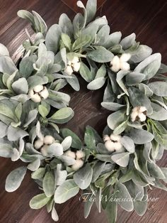 Farmhouse wreath – lambs ear wreath -cotton wreath – fixer upper wreath – wreaths for front door – Boxwood Wreath İdeas. Diy Fall Wreath, Fall Wreaths, Summer Wreath, Wreath Ideas, Christmas Wreaths, Boxwood Wreath, Greenery Wreath, Succulent Wreath, Hydrangea Wreath