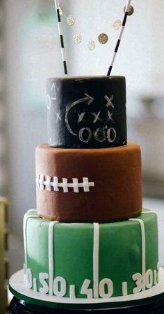 Football birthday party ideas will's big 13 football birthda Cake Pops, Sport Cakes, Birthday Parties, Cake Birthday, Football Birthday Cakes, Football Cakes, Birthday Ideas, Football Snacks, Sports Birthday