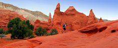 Kodachrome Basin State Park, Utah   Utah's Kodachrome Basin State Park is just 17 miles from Bryce ...