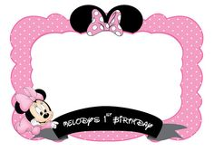 minnie mouse photo booth prop Customize photo booth by IRMdesgn