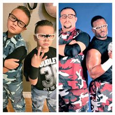 OH TESTIFY! @Angelinside1 did Bubba Ray and DVon proud! #HalloWWEen