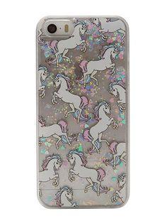 Skinnydip iPhone 5/5S Glitter Unicorn Case