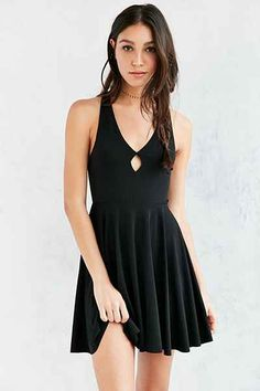 Silence + Noise Amaya Cutout Fit + Flare Dress - Urban Outfitters