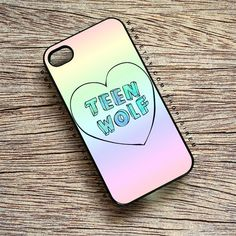TEEN WOLF Phone Case for iPhone 44s55s5C iPod Touch by Sirem.