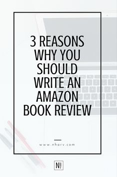 3 reasons why you should write an amazon book review || read more at http://www.nharv.com/blog/3-reasons-why-you-should-write-an-amazon-book-review