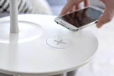IKEA Unveiled Furniture That Charges Your Smartphone | Dammit IKEA! Like I needed more things to love about you!!