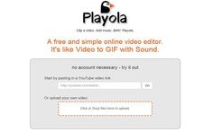 Playola: edita y mezcla videos de YouTube