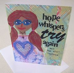Hope Whispers - card