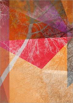 Pia Schneider | atelier COLOUR-VISION | - P26-B Trees and Triangles #kunst #art…