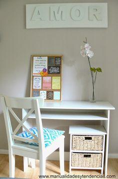 Vuelta al cole: decora tu escritorio / Back to school: desk makeover   Aprender manualidades es facilisimo.com