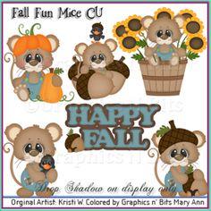 Fall Fun Mice CU