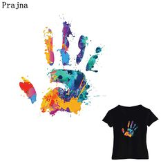Cheap Patches, Buy Directly from China Suppliers:Prajna Animal Heat Transfers Hand Print Animal Colorful Fox Iron-on Patches Stripe On Clothing Hot Vinly Patch DIY Dress Clothes Enjoy ✓Free Shipping Worldwide! ✓Limited Time Sale✓Easy Return.