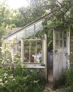 DIY Lean to Greenhouse: Kits on How to Build a Solarium Yourself!, DIY Lean to Green Diy Greenhouse Plans, Lean To Greenhouse, Outdoor Greenhouse, Greenhouse Gardening, Homemade Greenhouse, Dome Greenhouse, Cheap Greenhouse, Small Backyard Design, Small Backyard Landscaping