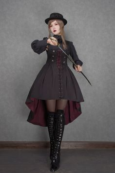 Pin on Design ideas Pin on Design ideas Style Lolita, Mode Lolita, Gothic Lolita Fashion, Steampunk Fashion, Victorian Fashion, Gothic Steampunk, Steampunk Clothing, Victorian Gothic, Gothic Fashion