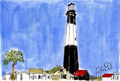 Lighthouse by Fifi Flowers
