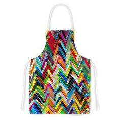 East Urban Home Chevrons by Frederic Levy-Hadida Artistic Apron