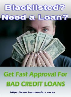 Loans For People With Bad Credit - Getting bad credit loans approved through reputable lenders is easy and entirely possible.