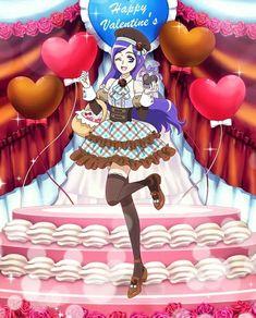 蒼乃美希 ハッピーバレンタイン♪ -プリキュア つながるぱずるん攻略Wikiまとめ【キュアぱず】 - Gamerch Pretty Cure, Glitter Force, Shining Star, Anime Shows, Magical Girl, The Cure, Berries, Kawaii, Valentines
