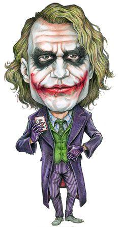 Image detail for -Caricature joker by ~AlanRodriguez on deviantART