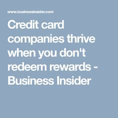 Get double the rewards with discover it cashback match nextadvisor credit card companies thrive when you dont redeem rewards business insider reheart Image collections